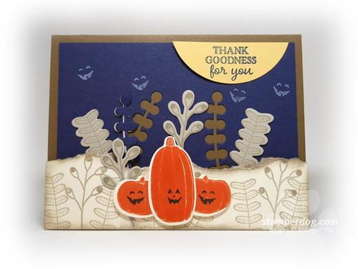 Spooky Pumpkin Card