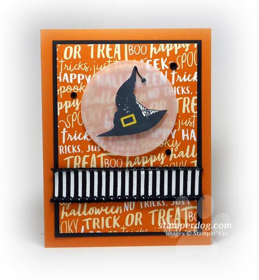 Witches Hat Halloween Card