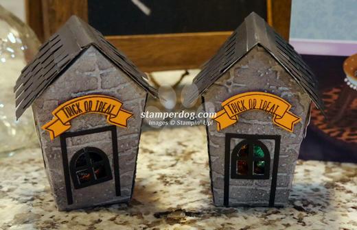 Halloween Candy House