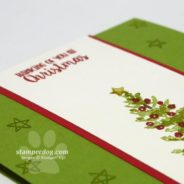 One Set Simple Christmas Card