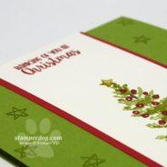 One Set Simple Christmas Card
