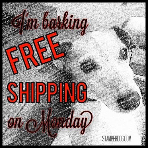 Free Shipping on Monday