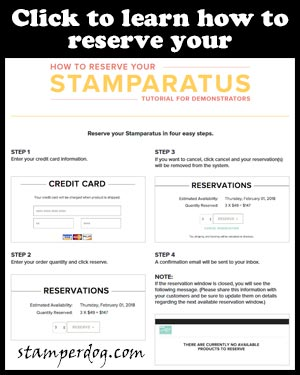 Things You Should Know About the NEW Stamparatus Preorder