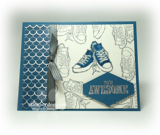Awesome Tennis Shoe Card