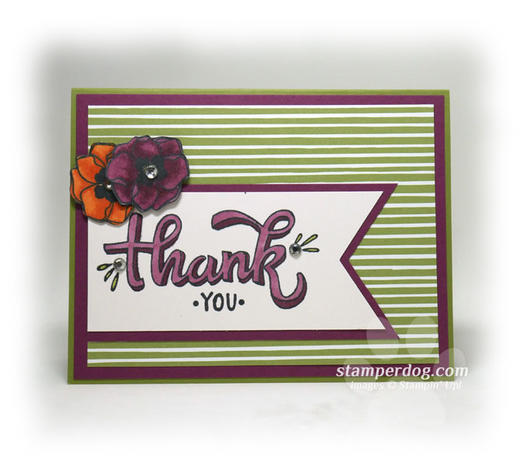 Blended Thank You Card