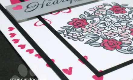 Layered Valentine Card