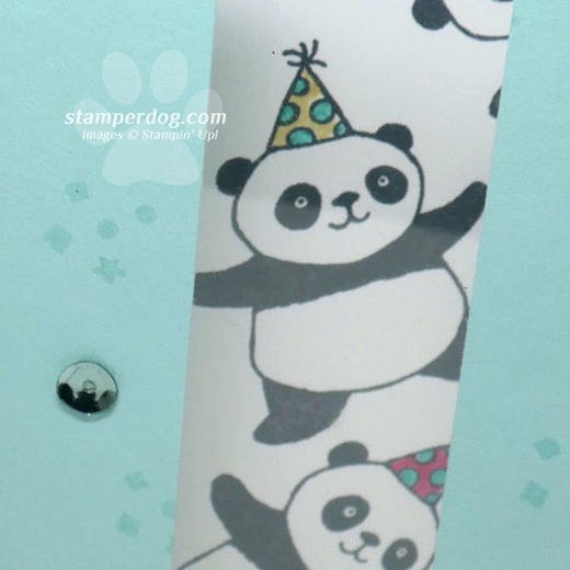 Panda Birthday Card