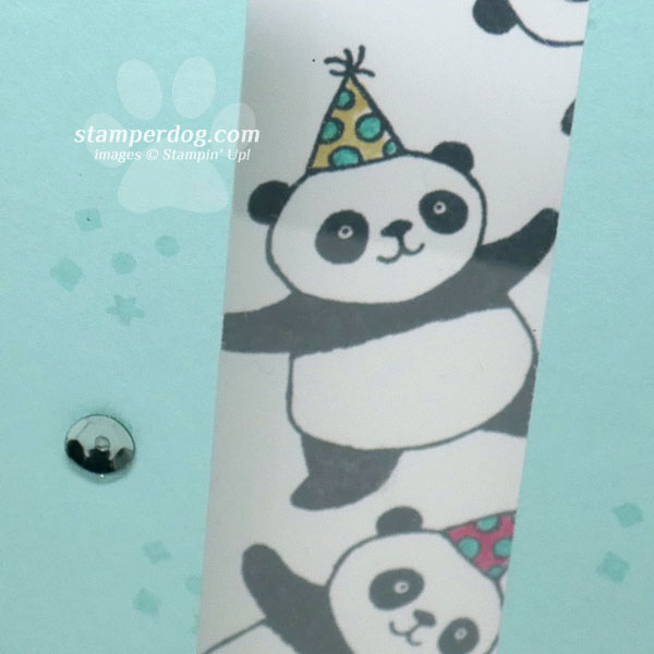 Peekaboo!  It's Another Panda Birthday Card