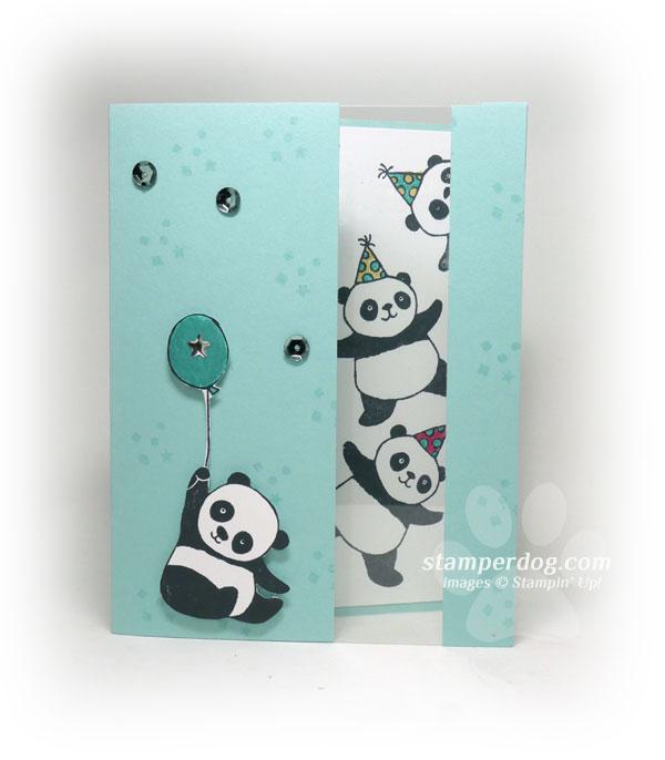 Peekaboo its another panda birthday card panda birthday card bookmarktalkfo Image collections