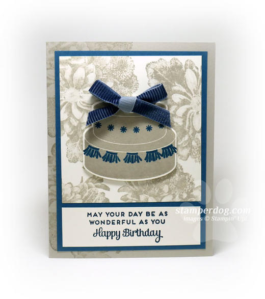 Beige Birthday Card
