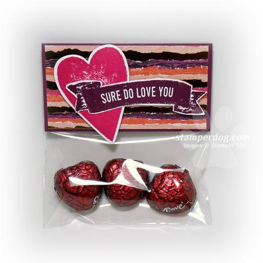 Valentine Candy Packet