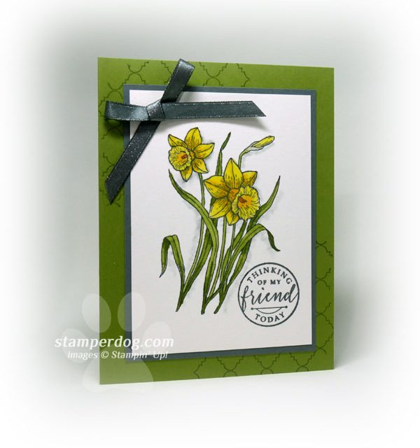 Love Our Watercolor Daffodils!