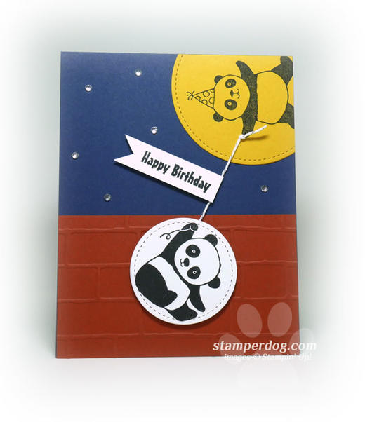 Panda Birthday Card Idea