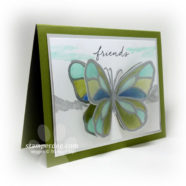 Did You See Our Stained Glass Butterfly?