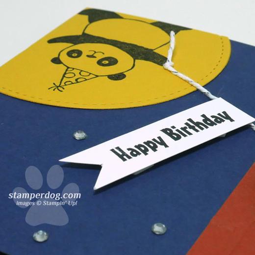 Panda Birthday Card Idea