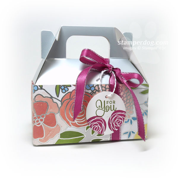 Little Silver Easter Gift Box