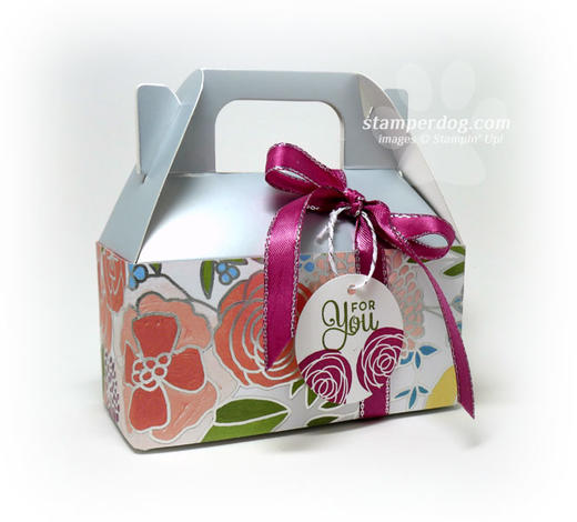 Silver Easter Gift Box