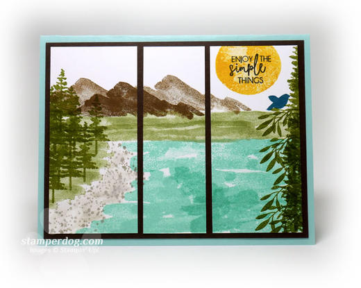 Picture Postcard Greeting Card