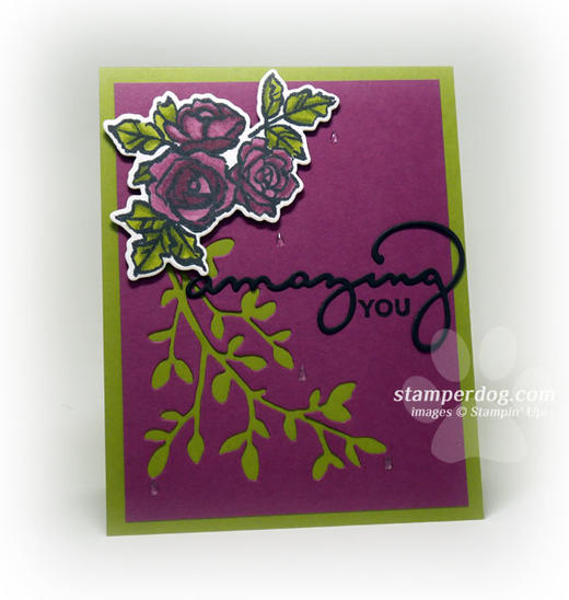 Crying Flowers Card