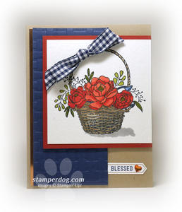 Blessing Basket Card