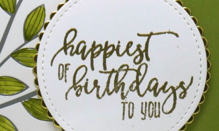 Easy and Elegant Birthday Card