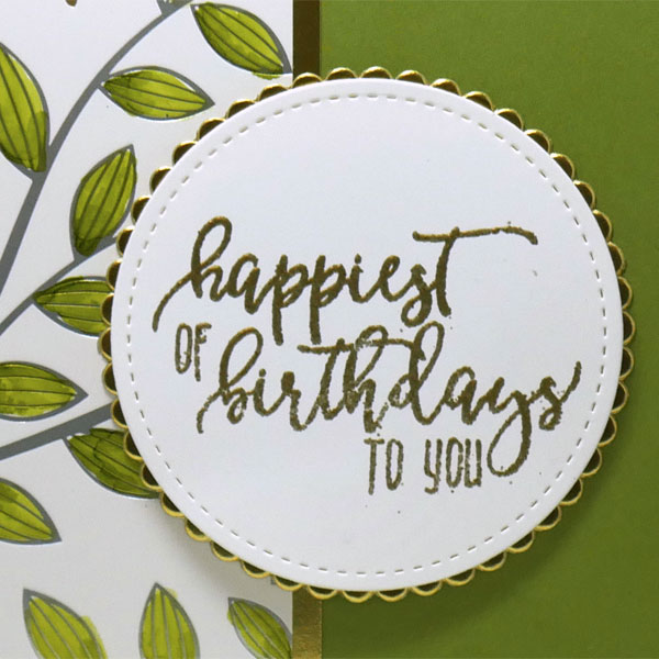 Easy and Elegant Birthday Card