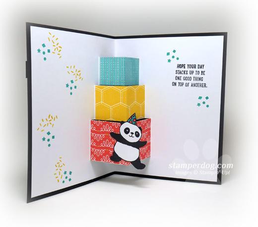 Panda Presents Card
