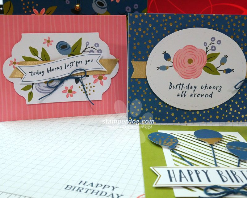 4 Quick and Easy Birthday Card Ideas
