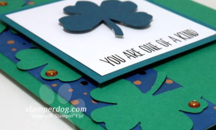 St. Patrick's Day Card with Bling