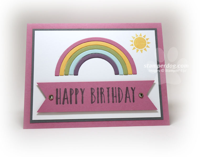 Quick And Easy Birthday Card Tips Stampin Up Demonstrator Ann M