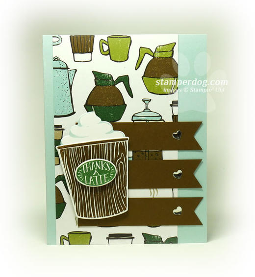 Coffee Thank You Card Idea