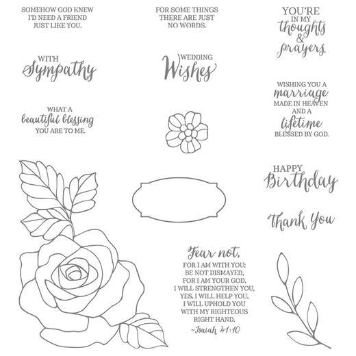 Rose Wonder Stamp Set