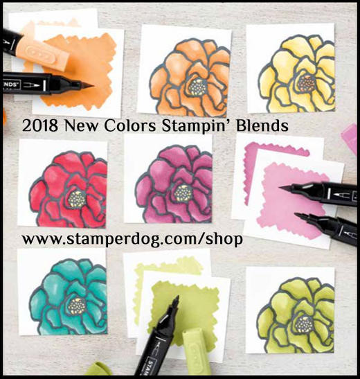 Stampin' Blends Projects