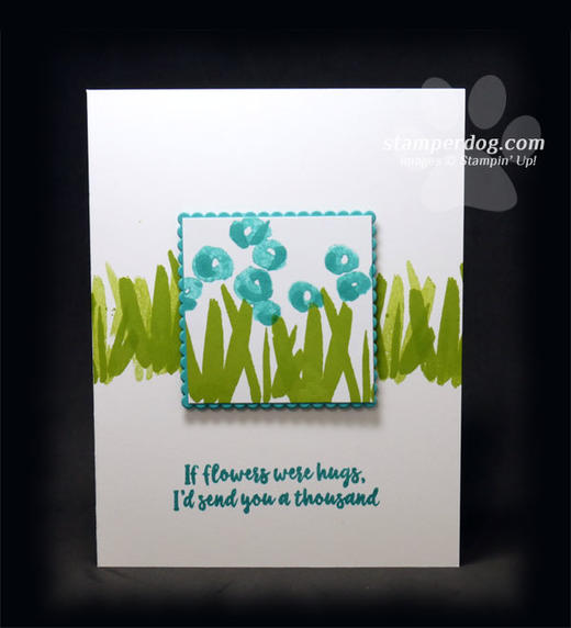 Blue Friends Card