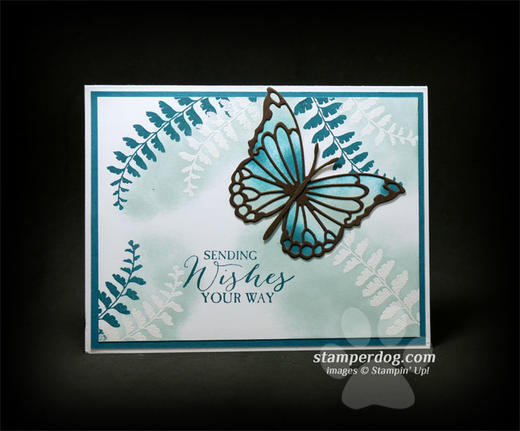 Kathy's Butterfly Card
