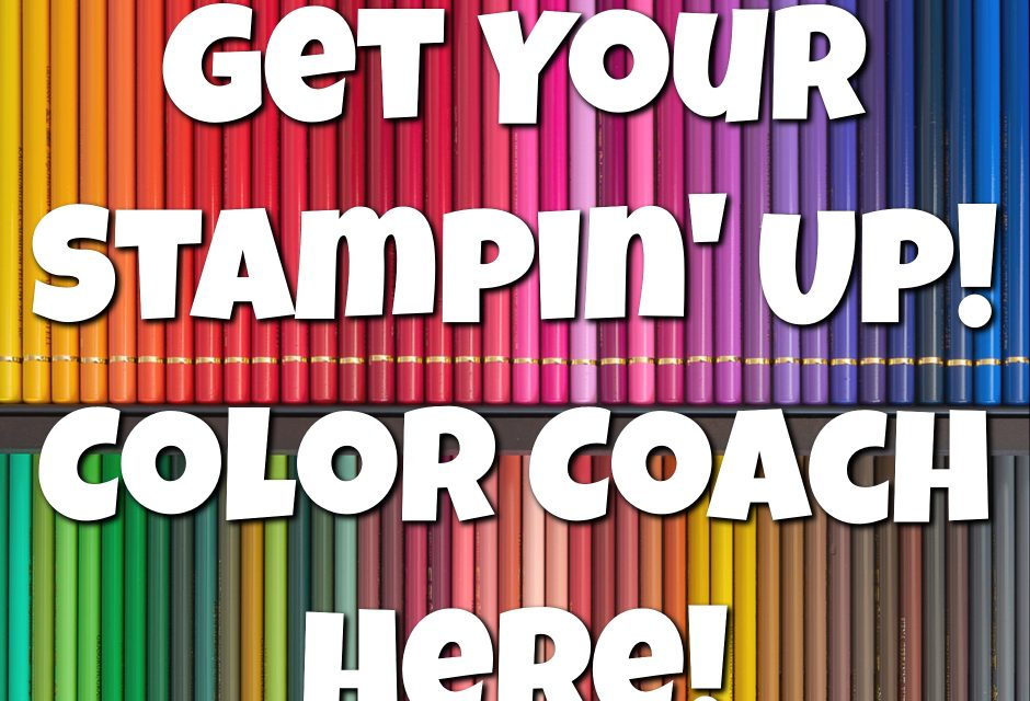Catch Your Stampin' Up! 2018 Color Coach!
