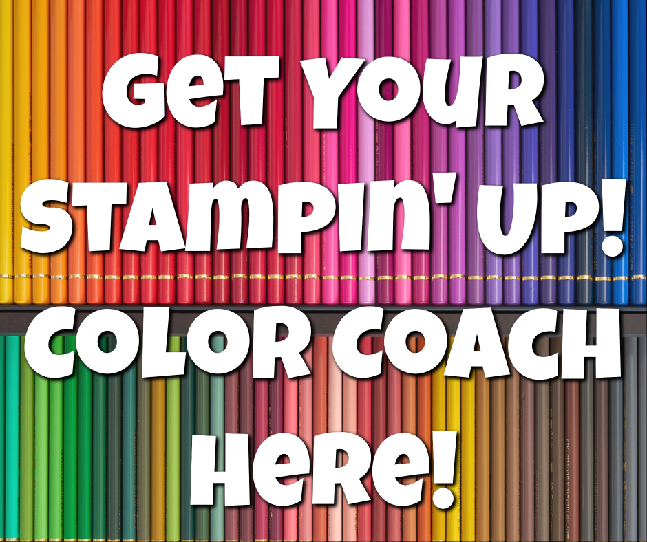 Catch Your Stampin Up 2018 Color Coach