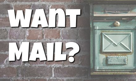 Want Mail?
