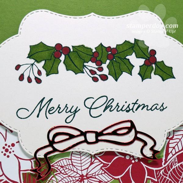 A Now & Later Christmas Card Idea