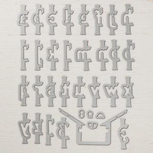 Layering Alphabet Edgelits