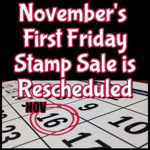 November Stamp Sale