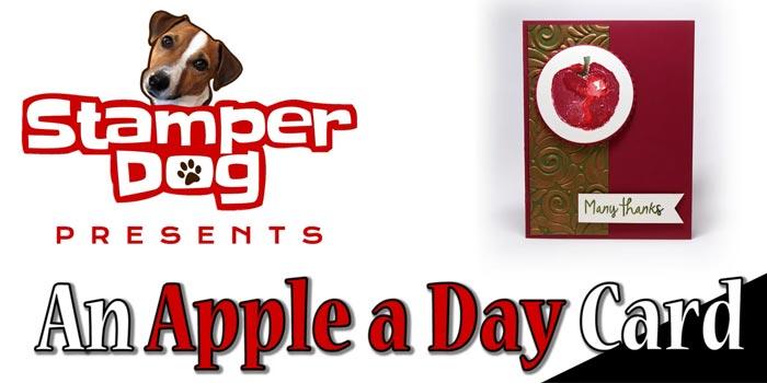 Stamparatus Apple Card Tutorial Video