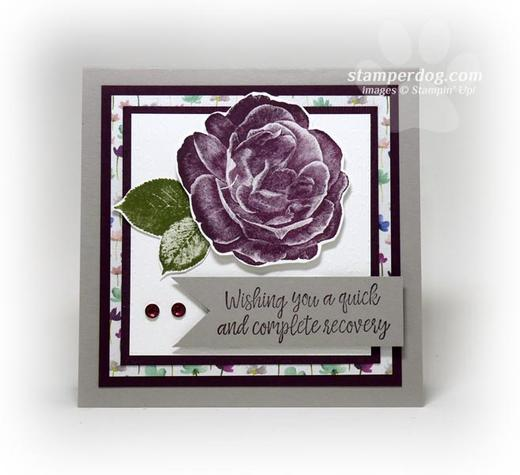Little Square Get Well Card