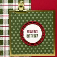 Looking for a December Birthday Card?