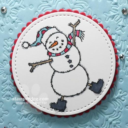 Dancing Christmas Snowman