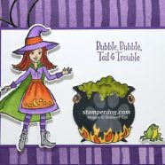 Loving a Halloween Card in My Mailbox