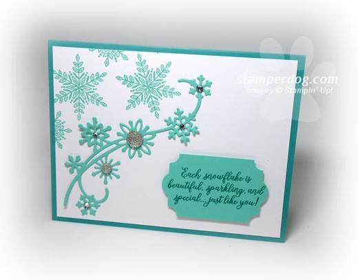 Snowflake Friends Card