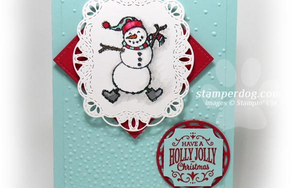Building the Snowman Card