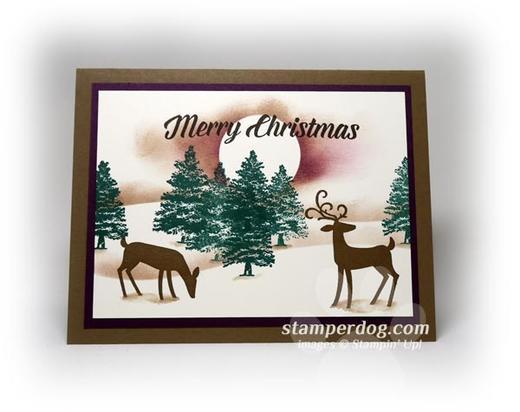 Masculine Christmas Card