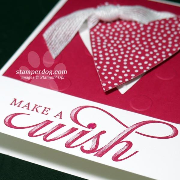 Giving a Valentine Wish